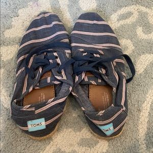 Toms Striped Espadrille Sneakers
